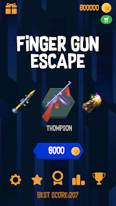 screenshot of Finger Gun Escape version 1.8