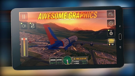 screenshot of Flight Sim 2018 version 1.2.9