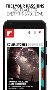screenshot of Flipboard - Latest News, Top Stories & Lifestyle version Varies with device