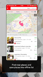 screenshot of Foody - Find Reserve Delivery version 5.0.4