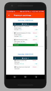 screenshot of Football Tips - Expert sports tips version 1.4