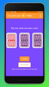 screenshot of Free Gift Cards and Cash Rewards 2019 version 1.0