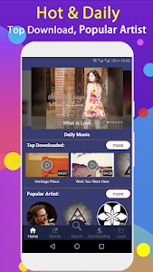 screenshot of Free Music Downloader - Mp3 Music Download version 1.1.2