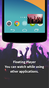 screenshot of Free Music Player App for YouTube: MusicBoxPlus version 1.2.0