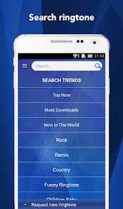 screenshot of Free Ringtones 2019 version Varies with device