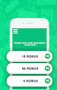 screenshot of Free Robux Quiz for Roblox version 1.0.0