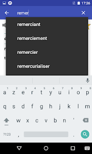 screenshot of French Dictionary - Offline version 4.6