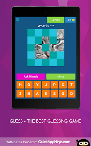screenshot of GUESS - THE BEST GUESSING GAME version 4.1.0z