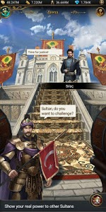screenshot of Game of Sultans version 1.7.01