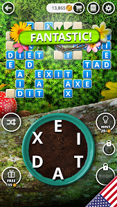 screenshot of Garden of Words - Word game version 1.41.43.4.1692