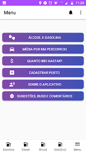 screenshot of Gasosa! version 9.0