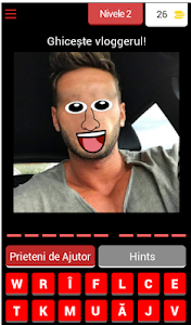 screenshot of Ghiceste Vloggerul Funny version 3.3.8z