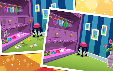 screenshot of Girly Doll House Room Clean up version 1.0