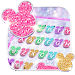 Girly Glitter Minny Keyboard Theme