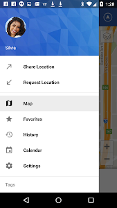 screenshot of Glympse - Share GPS location version 3.33.0