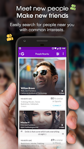 screenshot of Chat & Meet New People Nearby - Friendship App version 2.1.2