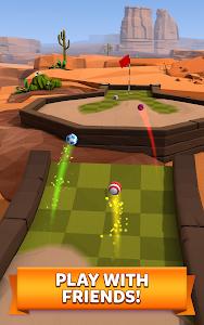 screenshot of Golf Battle version 1.7.0