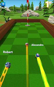 screenshot of Golf Battle version 1.11.2