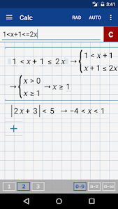 screenshot of Graphing Calculator + Math, Algebra & Calculus version 4.14.159
