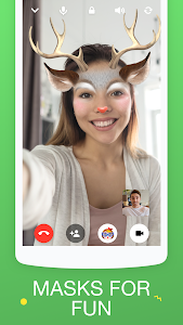 screenshot of ICQ — Video Calls & Chat Messenger version 7.4.2(823431)