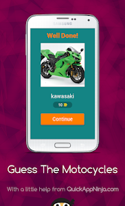 screenshot of Guess The Motorcycles version 3.2.8z