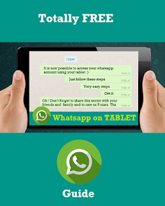 screenshot of Guide WhatsApp to Tablet version 1.0