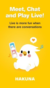 screenshot of HAKUNA Live - Meet, Chat and Play Live version 1.28.13