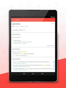 screenshot of U-Dictionary: English offline version 2.7.0