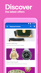 screenshot of eBay - Online Shopping - Buy, Sell, and Save Money version 5.38.0.14