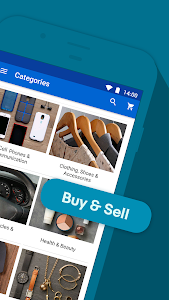 screenshot of Sales, Deals & Discounts! Buy & Save with eBay version Varies with device