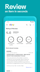 screenshot of eBay Online Shopping - Buy and sell on the go version Varies with device