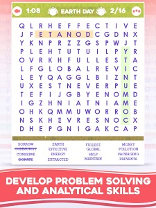 screenshot of Holiday Word Search - Search & Find Crossword version 4.0