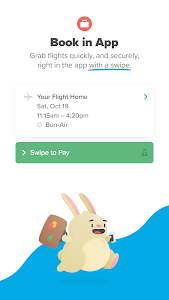 screenshot of Hopper - Book Flights version 4.39.0