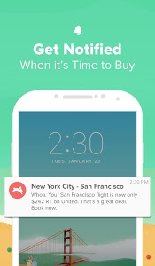 screenshot of Hopper - Watch & Book Flights version Varies with device