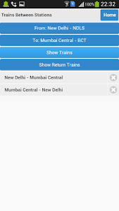 screenshot of Indian Rail PNR Enquiry & Live version 2.0.22