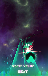 screenshot of Infinity Run: Rush Balls On Rhythm Roller Coaster version 1.4.4