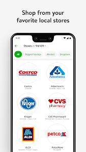 screenshot of Instacart: Grocery Delivery version 5.16.5