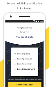 screenshot of Personal Loan App Instant Online Cash - KreditBee version 0.2.2