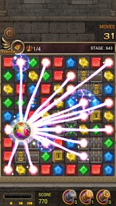 screenshot of Jewels Temple version 1.9.3