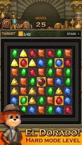 screenshot of Jewels Temple Quest : Match 3 version 1.6.9