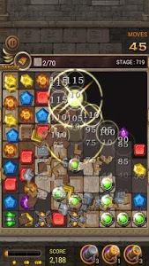 screenshot of Jewels Temple version 1.8.7