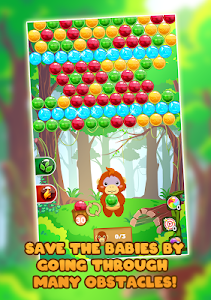 screenshot of Jungle Fellow - Bubble Shooter version 1.0.1