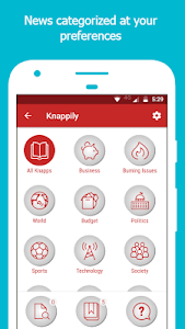 screenshot of Knappily - The Knowledge App version 1.0.69