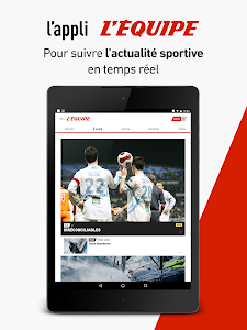 screenshot of L'Équipe - Sport en direct : foot, tennis, rugby.. version Varies with device