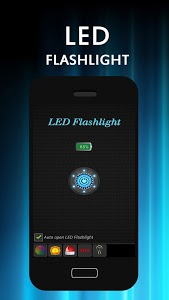 screenshot of LED Flashlight version 2.4