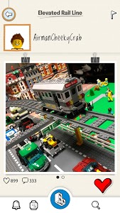 screenshot of LEGO® Life: Safe Social Media for Kids version 2.3.3