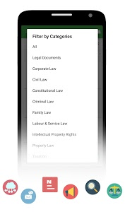 screenshot of Lawyers Club India - Legal Query. Advocates/Vakil version 3.1.1