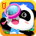 Little Panda Treasure Hunt - Find Differences Game