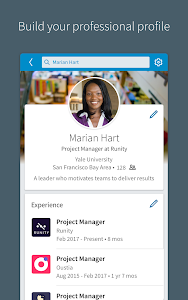 screenshot of LinkedIn version 4.1.180