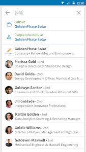 screenshot of LinkedIn version 4.0.79